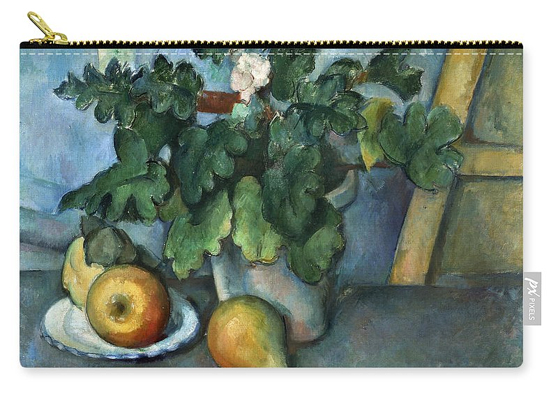 1890 Carry-all Pouch featuring the photograph Cezanne: Still Life, C1888 by Granger