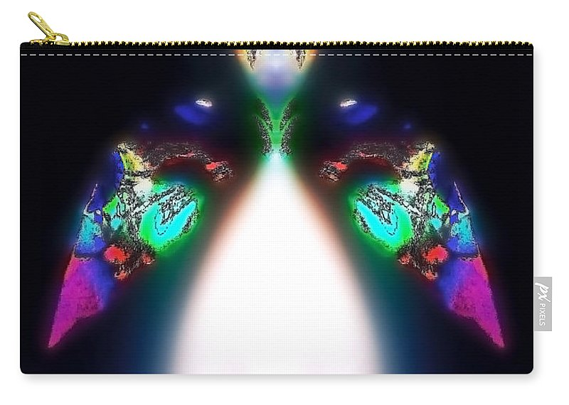 Angel Carry-all Pouch featuring the digital art Chaioth by Raymel Garcia