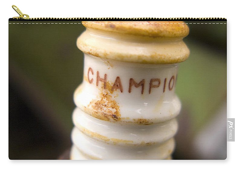 Champion Carry-all Pouch featuring the photograph Champion by Jeffery Ball