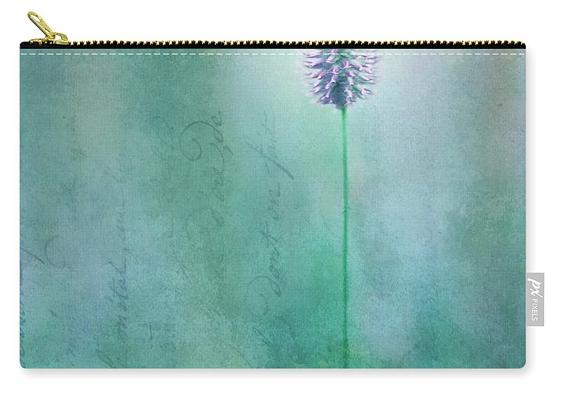 Grass Carry-all Pouch featuring the photograph Chandelle by Priska Wettstein