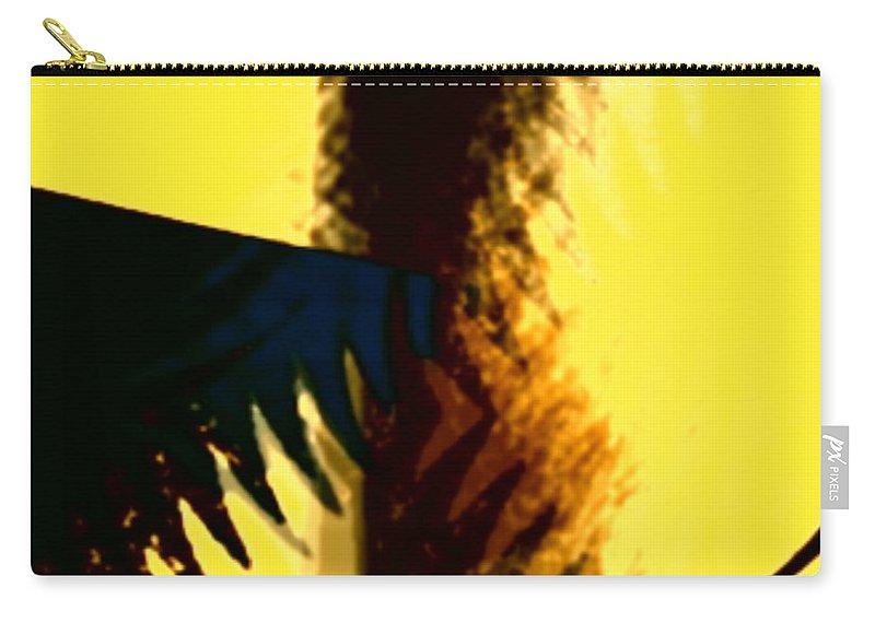 Art Digital Art Carry-all Pouch featuring the digital art Change - Leaf1a by Alex Porter