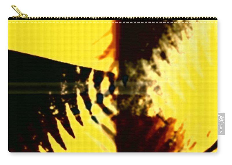 Art Digital Art Carry-all Pouch featuring the digital art Change - Leaf5 by Alex Porter