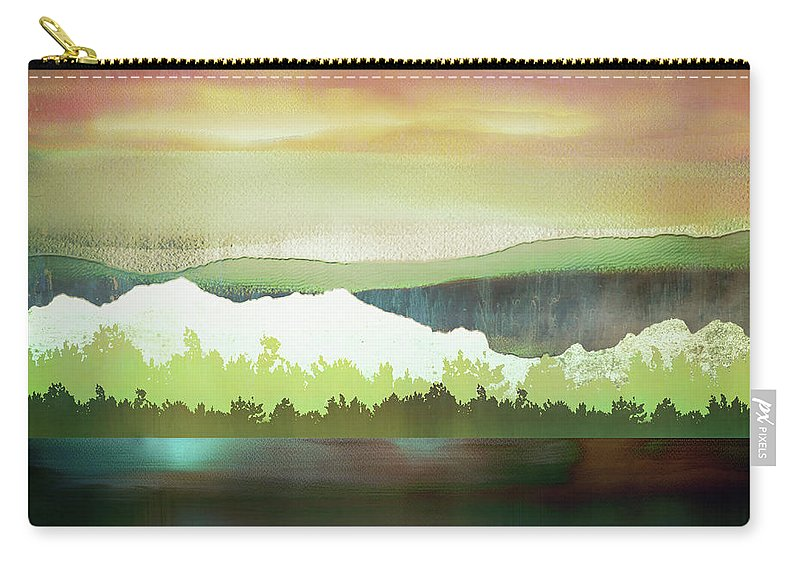Change Carry-all Pouch featuring the digital art Change by Katherine Smit