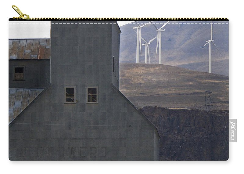 Wind Carry-all Pouch featuring the photograph Changing Landscapes by Jeffery Ball