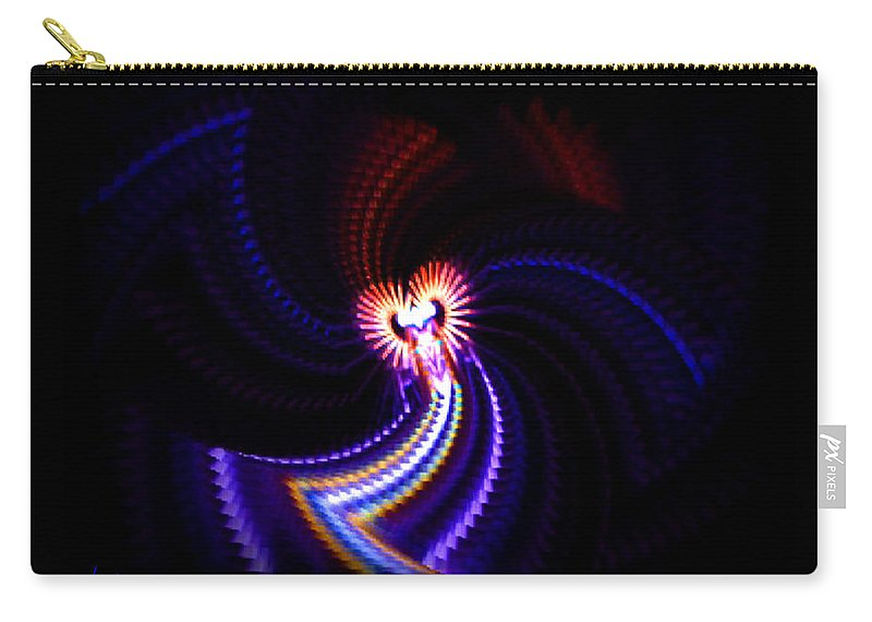 Chaos Carry-all Pouch featuring the painting Chaos Dance by Charles Stuart