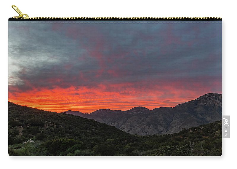 California Carry-all Pouch featuring the photograph Chaparral Dreams by TM Schultze