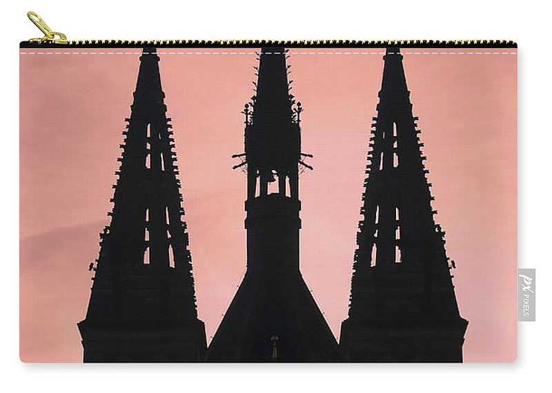 Church Carry-all Pouch featuring the photograph Chapter Church Of St Peter And Paul by Michal Boubin