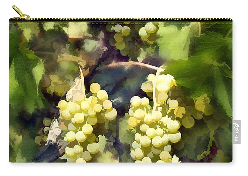 Chardonnay Carry-all Pouch featuring the photograph Chardonnay by Kurt Van Wagner