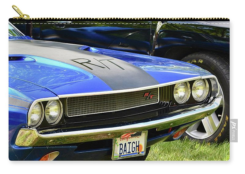 Carry-all Pouch featuring the photograph Challenger R/t by Dean Ferreira