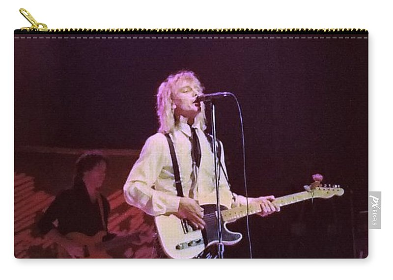 Robin Zander Carry-all Pouch featuring the photograph Cheap Trick 4 by Kevin B Bohner
