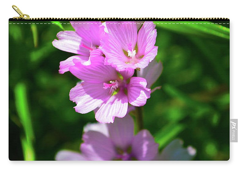 Checkerblooms Carry-all Pouch featuring the photograph Checkerbloom by Christine Dorfer