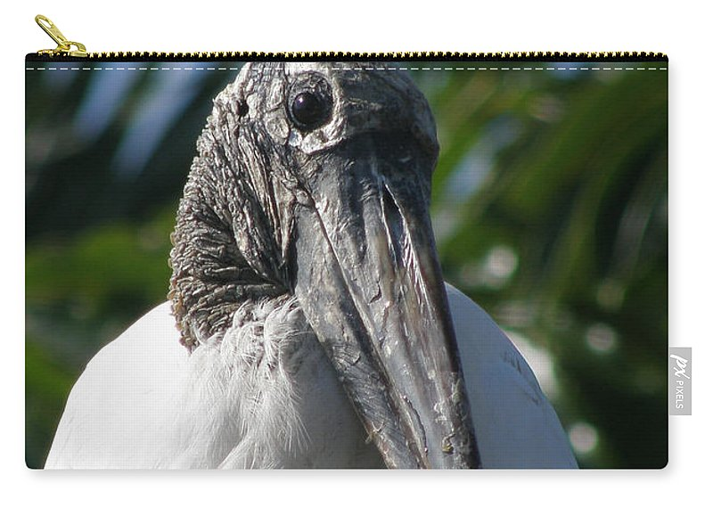 Bird Carry-all Pouch featuring the photograph Cheese by Kimberly Mohlenhoff