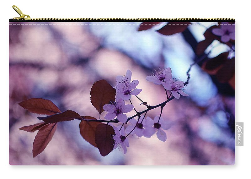 Cherry Carry-all Pouch featuring the photograph Cherry Blossoms by Alicia Fdez