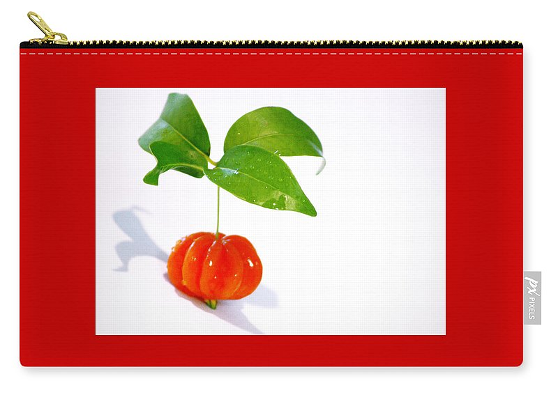 Food Carry-all Pouch featuring the photograph Cherry by Holly Kempe