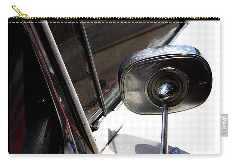 Biscayne Carry-all Pouch featuring the photograph Chevy Looking Back by Amanda Barcon