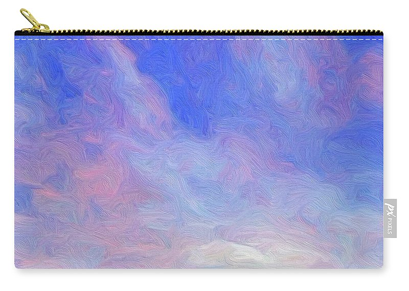 Prairie Carry-all Pouch featuring the painting Cheyenne Spring by Dominic Piperata