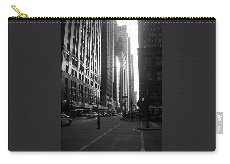 Carry-all Pouch featuring the photograph Chicago 2 by Samantha L