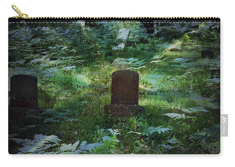 Cemetery Carry-all Pouch featuring the photograph Children Of The Grave by Scott Ward