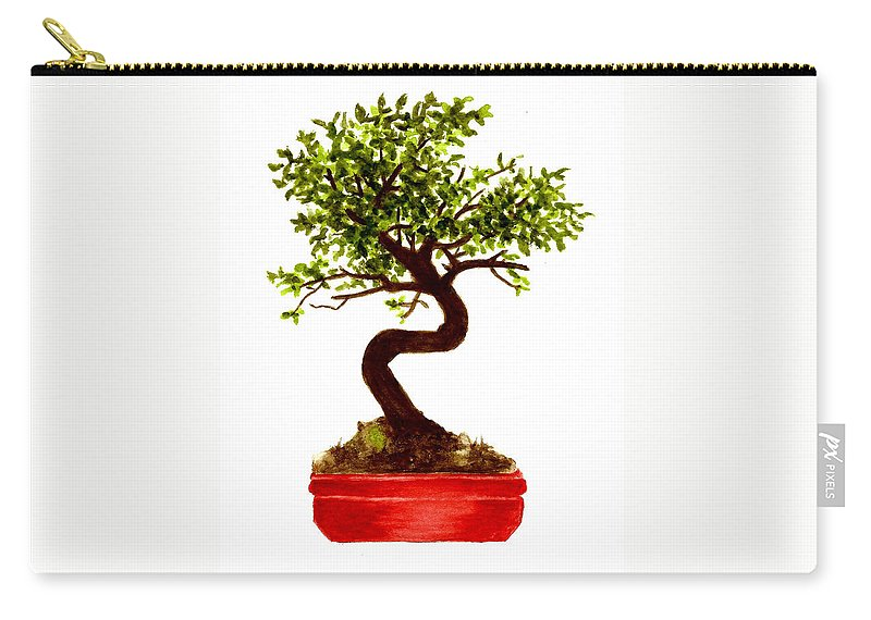 Chinese Elm Bonsai Tree Carry All Pouch For Sale By Michael Vigliotti