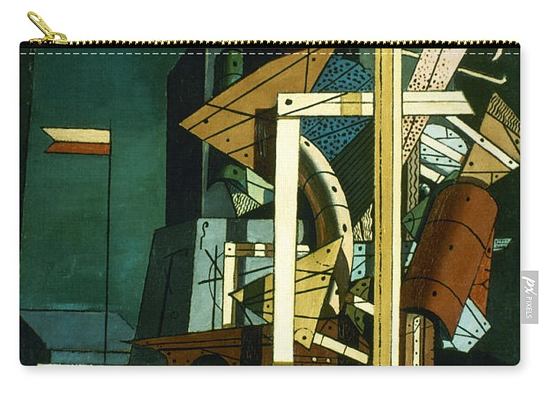 1916 Carry-all Pouch featuring the photograph Chirico: Melancolie by Granger