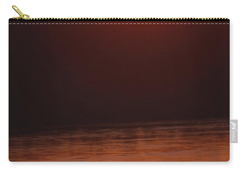 Sunset Carry-all Pouch featuring the photograph Chitwan Sunset by Patrick Klauss