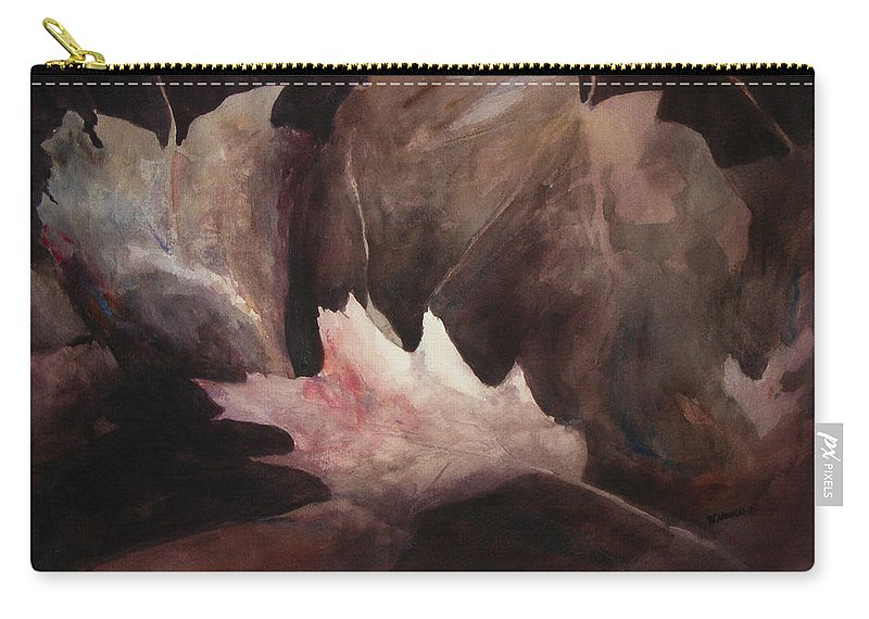 Landscape Carry-all Pouch featuring the painting Chosen One by Rachel Christine Nowicki