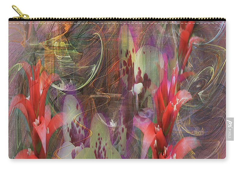 Chosen Ones Carry-all Pouch featuring the digital art Chosen Ones by John Beck