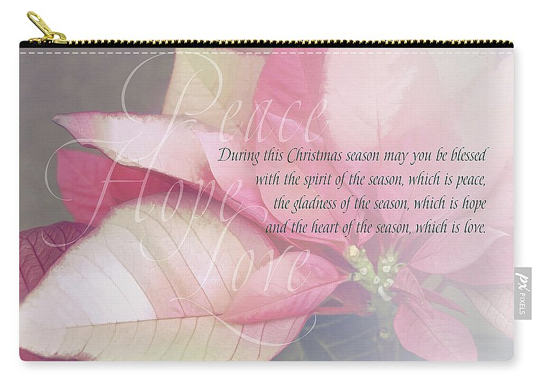 Christmas Carry-all Pouch featuring the digital art Christmas 1 by Terry Davis