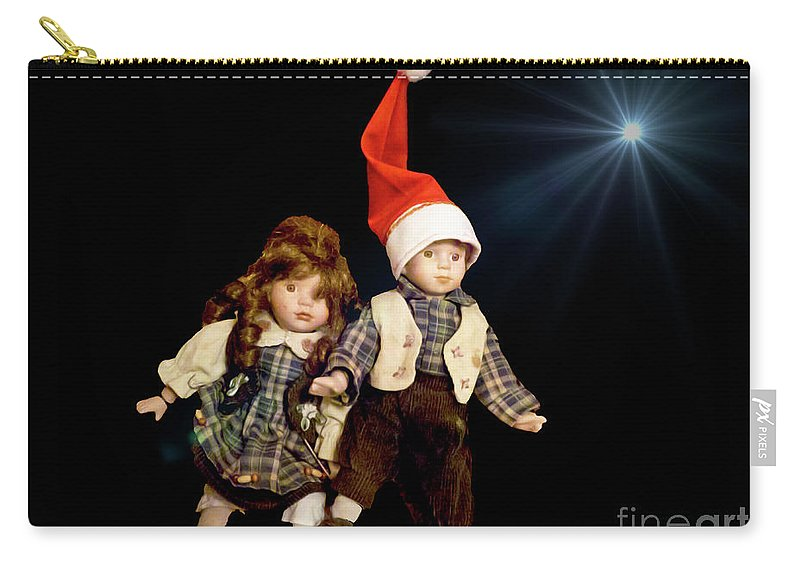 Christmas Carry-all Pouch featuring the photograph Christmas Card 2017 - 1 by Al Bourassa