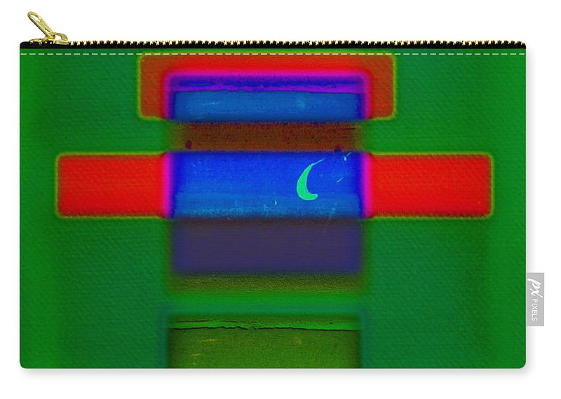 Rothko Carry-all Pouch featuring the painting Christmas by Charles Stuart