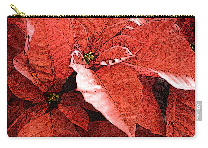 California Images Carry-all Pouch featuring the photograph Christmas In July by Norman Andrus