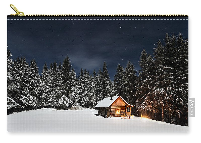 Christmas Carry-all Pouch featuring the photograph Christmas by Paul Itkin