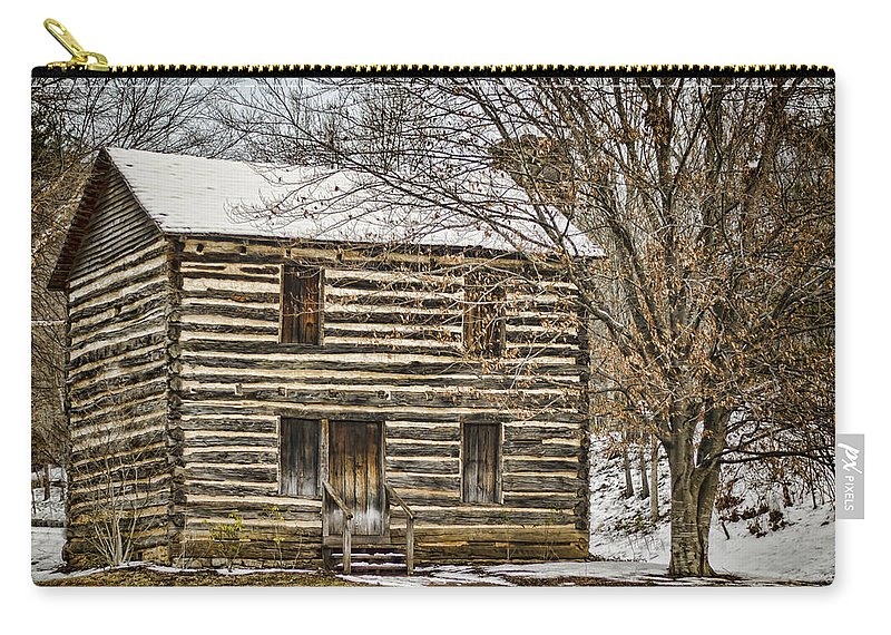 Christopher Taylor Carry-all Pouch featuring the photograph Christopher Taylor House by Heather Applegate