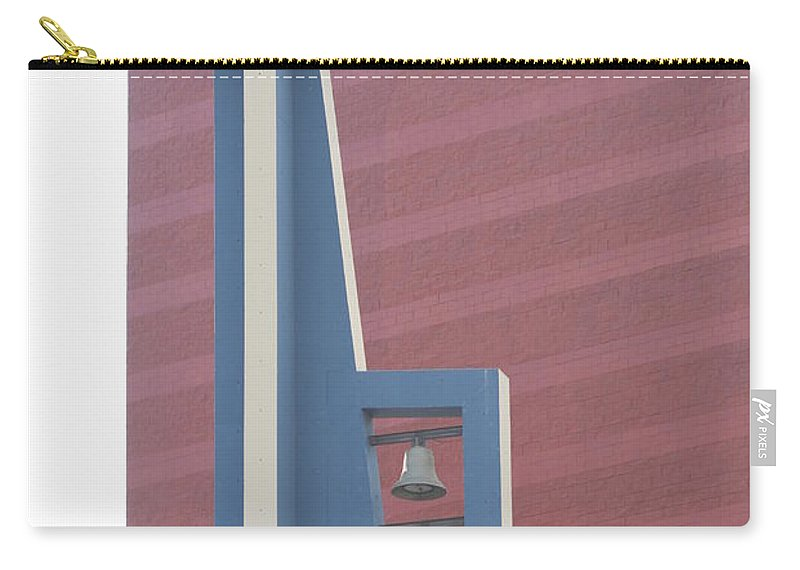 Bells Carry-all Pouch featuring the photograph Church Bells by Rob Hans