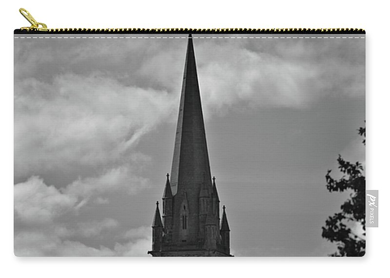 Church Carry-all Pouch featuring the photograph Church In Ireland by Douglas Barnett