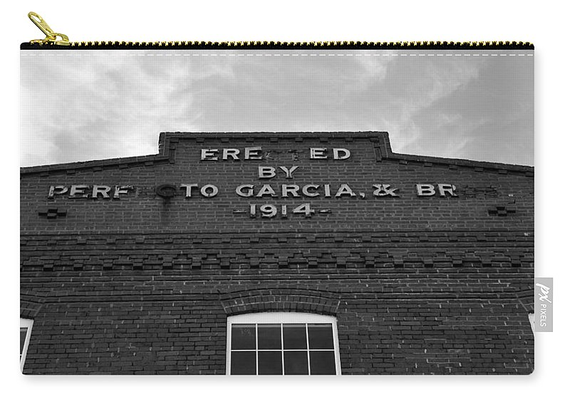 Fine Art Photography Carry-all Pouch featuring the photograph Cigar Factory 1914 by David Lee Thompson