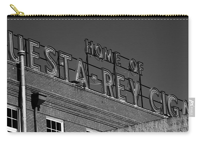Fine Art Photography Carry-all Pouch featuring the photograph Cigar Home by David Lee Thompson