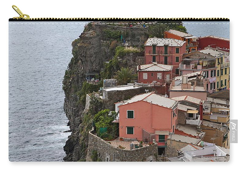 Italy Carry-all Pouch featuring the photograph Cinque Terre by Nadine Rippelmeyer