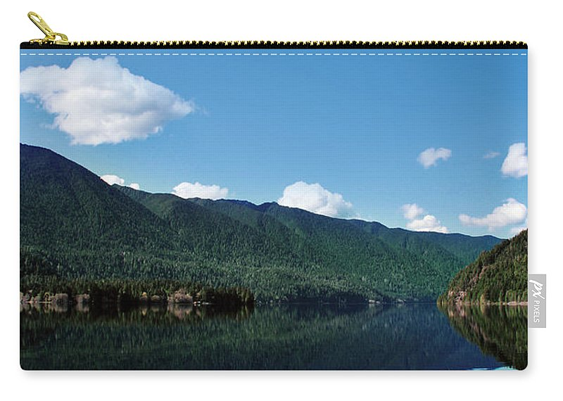 Nature Carry-all Pouch featuring the photograph Circe's Mirror Portal by Michelle Williamson