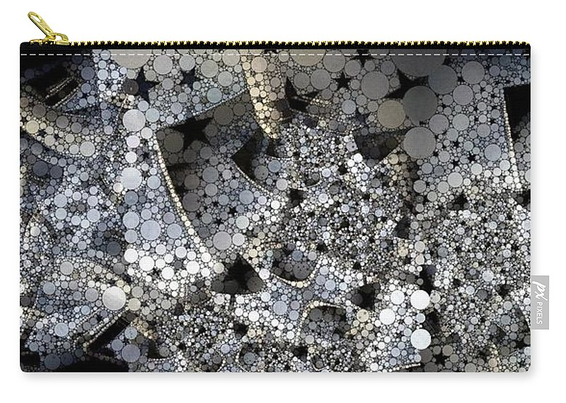 Collage Carry-all Pouch featuring the photograph Circles And Stars by Ron Bissett