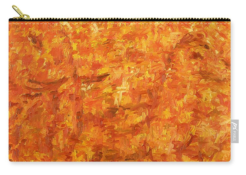 Pony Carry-all Pouch featuring the painting Circus by Robert Nizamov