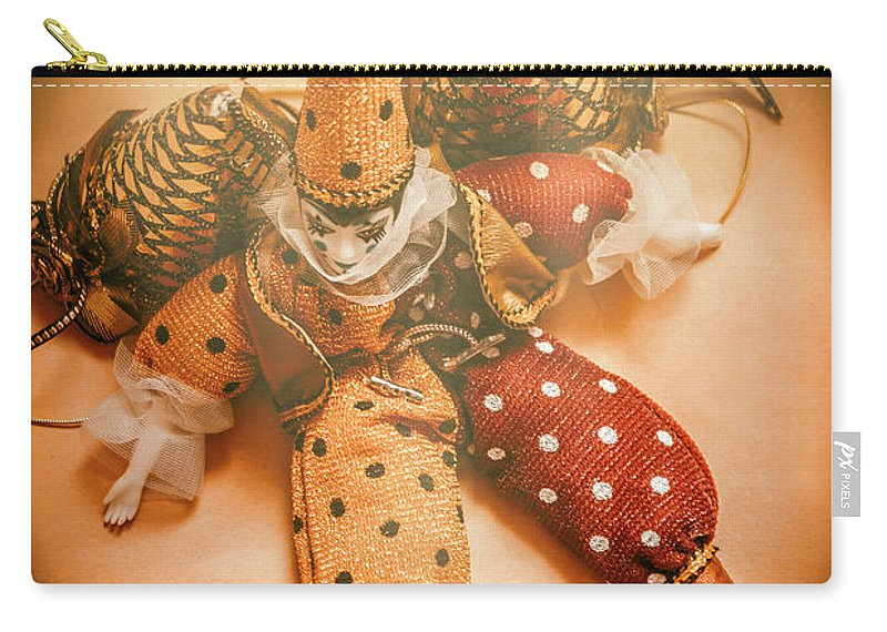 Clown Carry-all Pouch featuring the photograph Circus Stage Spotlight by Jorgo Photography - Wall Art Gallery