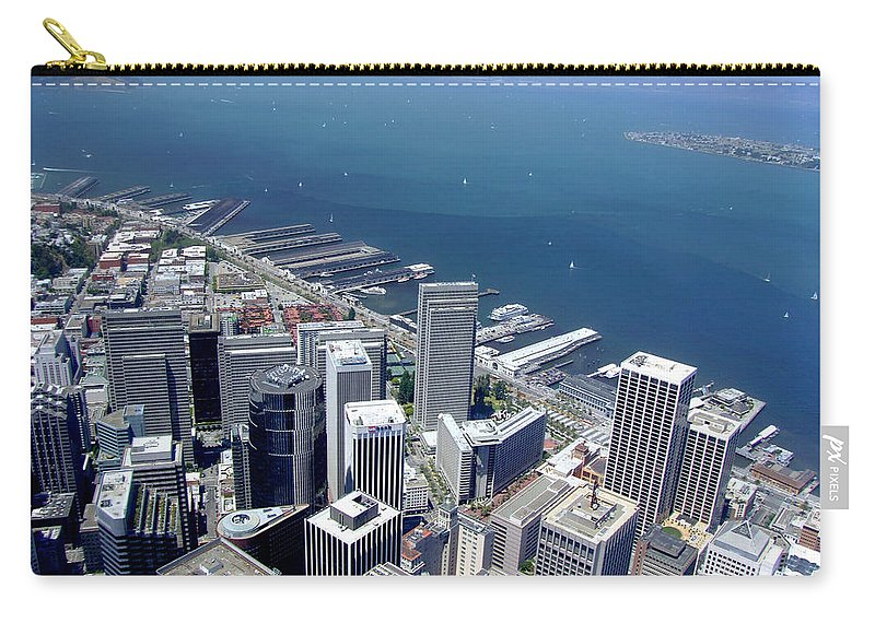 San Francisco Carry-all Pouch featuring the photograph City By The Bay by Donna Blackhall