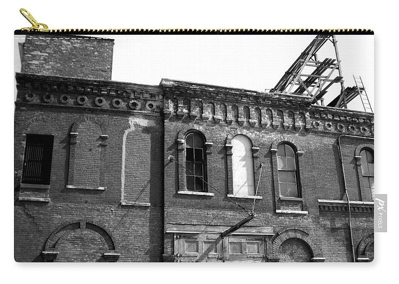 Milwaukee Carry-all Pouch featuring the photograph City Decay 1 by Anita Burgermeister