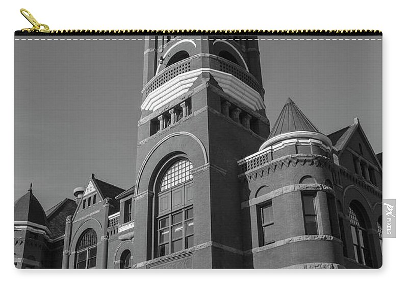 Structures Carry-all Pouch featuring the photograph City Hall by Roger Patterson