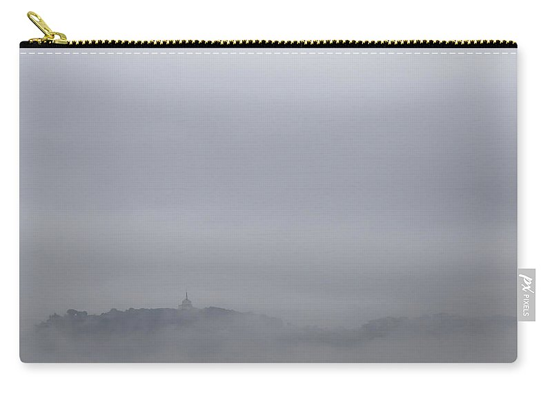 Landscape Carry-all Pouch featuring the photograph City In The Sky 1 by Fabio Huchant