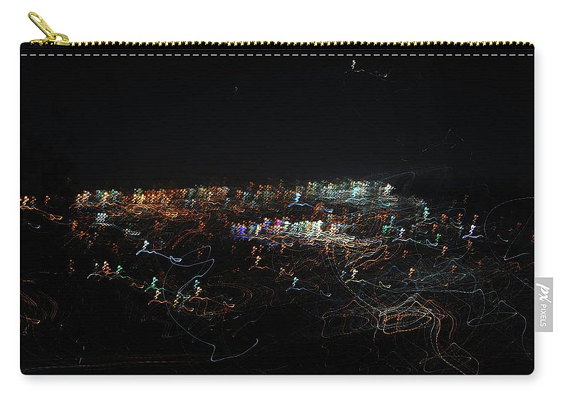 Night Carry-all Pouch featuring the digital art City Of Stars by Josue Estrada