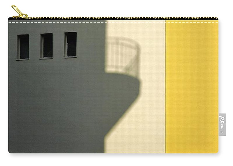 City Carry-all Pouch featuring the photograph City Shadow by Silvia Ganora