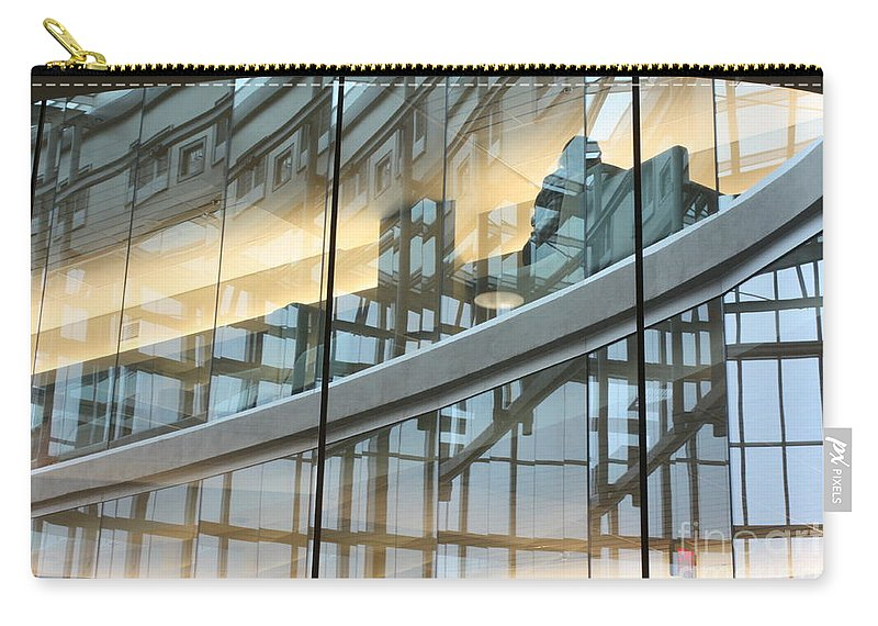 City Carry-all Pouch featuring the photograph City Solitude by Brian Boyle