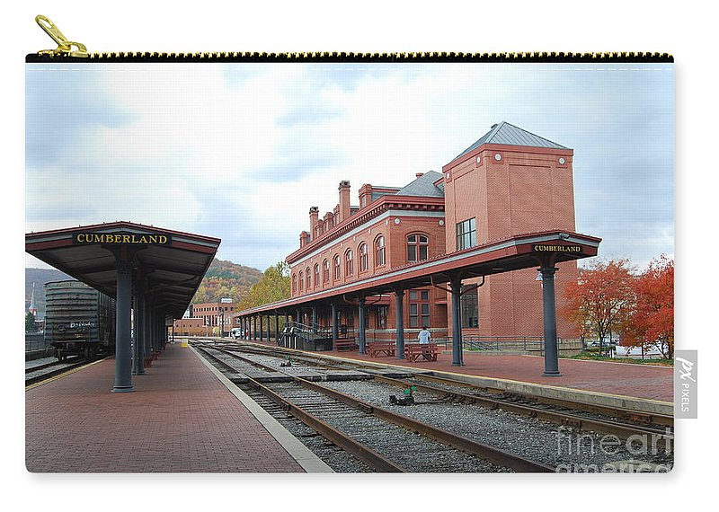 Historic Carry-all Pouch featuring the photograph Cumberland City station by Eric Liller